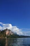 Viaggio a Surat-Thani a sud della Tailandia Fotografia Stock
