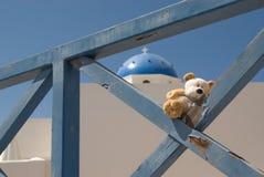 Viaggio teddybear Fotografia Stock Libera da Diritti