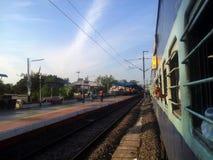Viaggio in treno fotografie stock libere da diritti