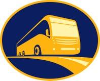 Viaggio turistico del bus della vettura Immagine Stock