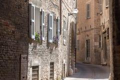 Viaggio verso la metà di tempo di molla dell'Italia Fotografia Stock