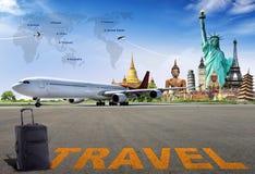 Viaja o mundo Foto de Stock