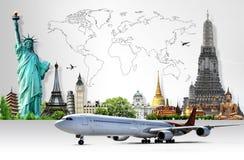 Viaja o mundo Imagem de Stock Royalty Free