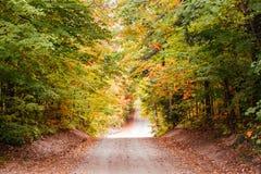 Viajando el camino abierto Fotografía de archivo