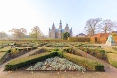 Viajando no entalhe famoso de Rosenborg, Copenhaga fotos de stock royalty free