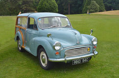 Viajante 1000 clássico de Morris Minor Fotografia de Stock Royalty Free