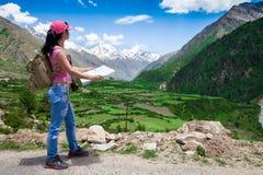Viajante da mulher Imagem de Stock