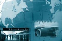 Viajante de mundo Imagens de Stock Royalty Free