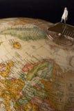 Viajante de negócio Imagem de Stock