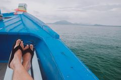 Viajante dos pés Fotos de Stock Royalty Free