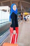 Viajante muçulmano imagem de stock royalty free