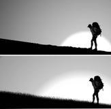 Viajante solitário Foto de Stock
