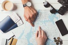 viajantes fotografia de stock