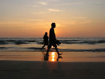 Viajantes. Imagem de Stock