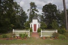 Viajantes capela, lote de estacionamento de Myrtle Beach w Fotos de Stock Royalty Free