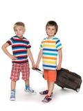 Viajantes pequenos Fotografia de Stock Royalty Free