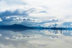 Viajantes solitários Foto de Stock