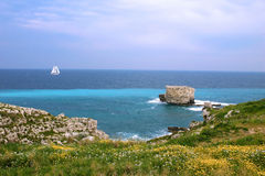 Viajar no sailboat fotografia de stock royalty free