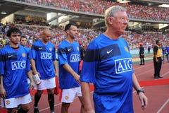 Viaje 2009 de Manchester United Asia Fotos de archivo