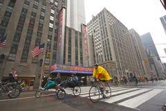 Viaje 2009 NY de la bici de Boro de la batería cinco de TD Fotografía de archivo