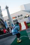 Viaje 2011 del estilo libre de Nokia en Bratislava, Eslovaquia Imagen de archivo