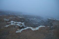 Viaje al cráter de Ijen Fotografía de archivo