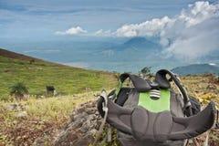 Viaje al EL volcan Hoyo, Nicaragua Fotos de archivo libres de regalías