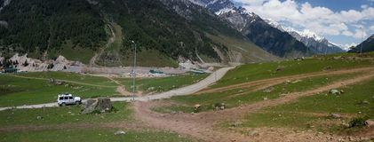 Viaje al Himalaya fotografía de archivo