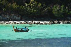 Viaje alrededor de la isla de Lipe en barco Foto de archivo