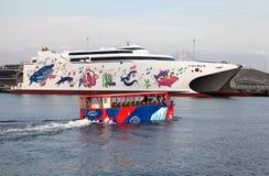 Viaje anfibio Yokohama del autobús Imagen de archivo libre de regalías