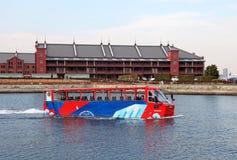 Viaje anfibio Yokohama del autobús Imagenes de archivo