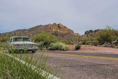 Viaje Arizona del coche Foto de archivo