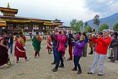 Viaje Bhután Imágenes de archivo libres de regalías