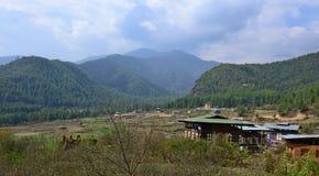 Viaje Bhután Fotografía de archivo libre de regalías