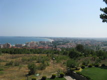 Viaje a Bulgaria Sunny Beach Fotografía de archivo libre de regalías