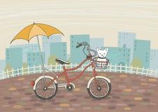 Viaje con el amigo Imagen de archivo libre de regalías