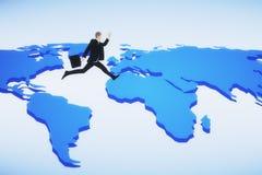 Viaje, concepto del viaje de negocios libre illustration