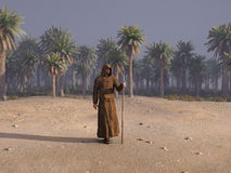 Viaje de Cristo Foto de archivo