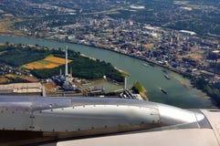 Viaje de Düsseldorf Imagenes de archivo