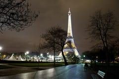 Viaje de Eiffel Foto de archivo libre de regalías