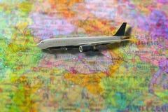 Viaje de Europa en aeroplano Imagen de archivo