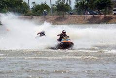 Viaje de Jetski del G-choque favorable Tailandia 2014 Internationa Foto de archivo