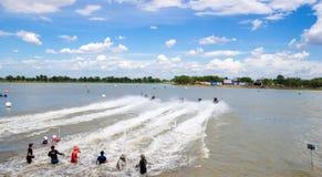 Viaje de Jetski del G-choque favorable Tailandia 2014 Internationa Fotos de archivo