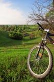 Viaje de la bici Foto de archivo libre de regalías