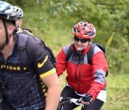 Viaje de la bicicleta Imagenes de archivo
