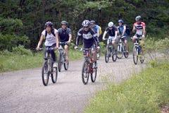 Viaje de la bicicleta Fotografía de archivo