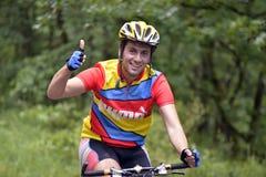 Viaje de la bicicleta Foto de archivo libre de regalías