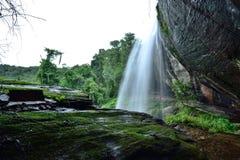 Viaje de la cascada en Tailandia fotografía de archivo