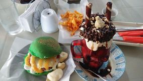 Viaje de la comida Foto de archivo