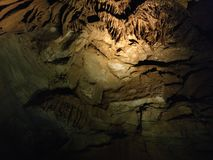 Viaje de la cueva de Kentucky los E.E.U.U. de las cuevas del mamut Imagen de archivo